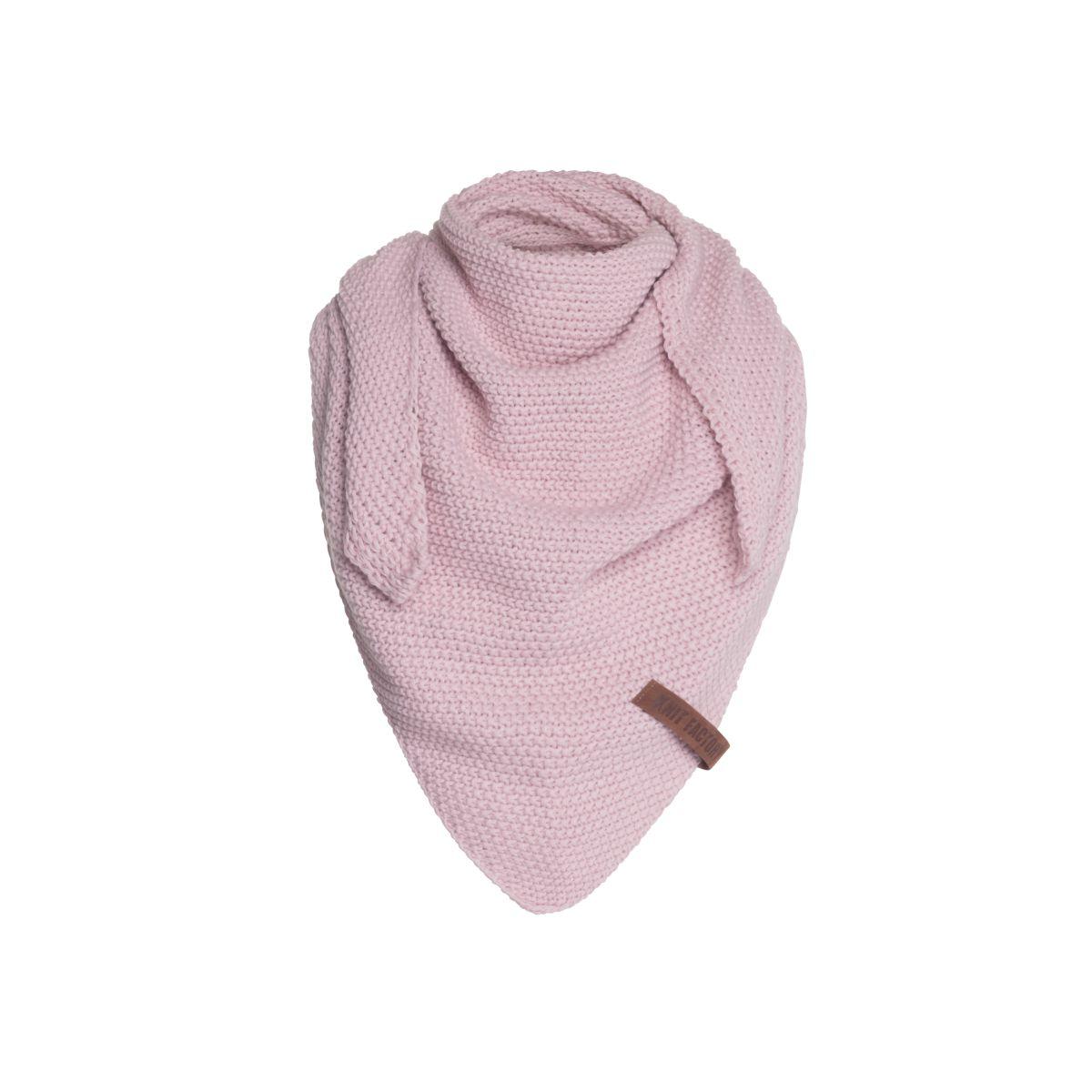 coco triangle scarf junior pink