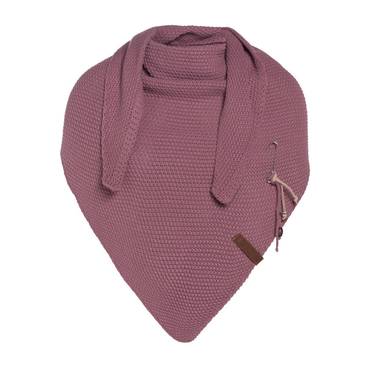 coco triangle scarf lilac