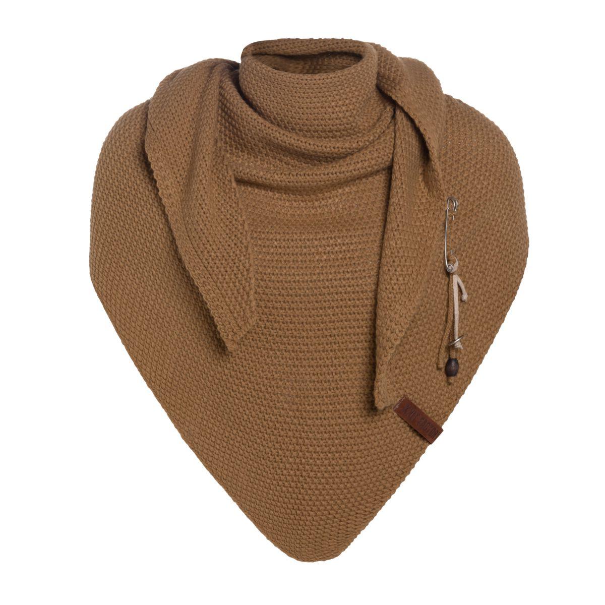 coco triangle scarf new camel