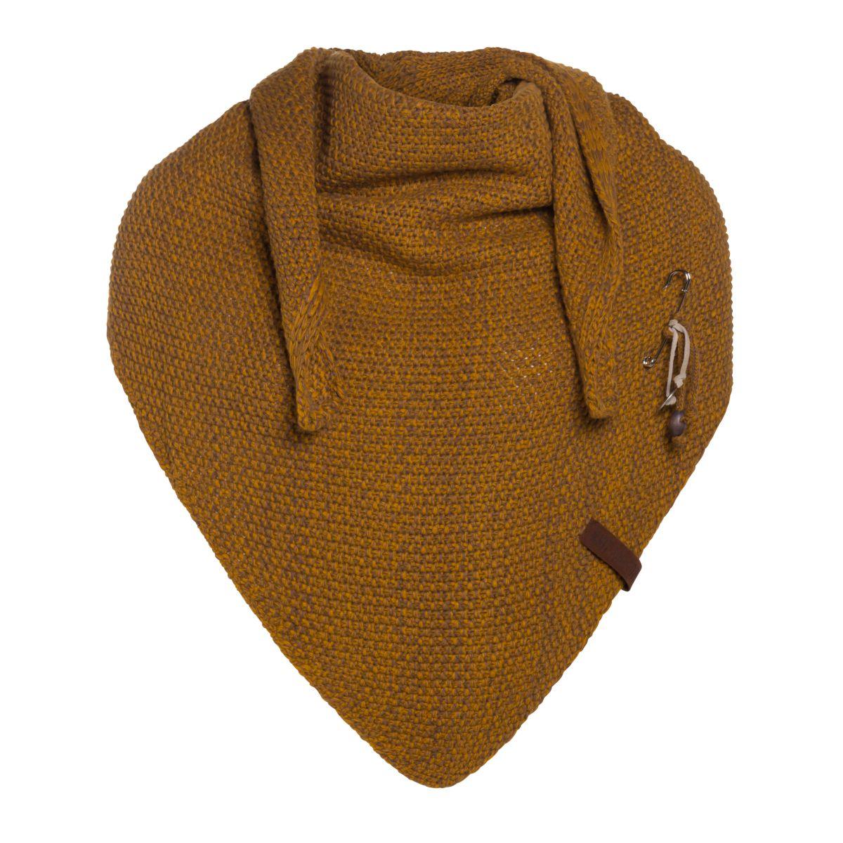 coco triangle scarf ochretobacco