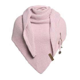 Coco Triangle Scarf Pink