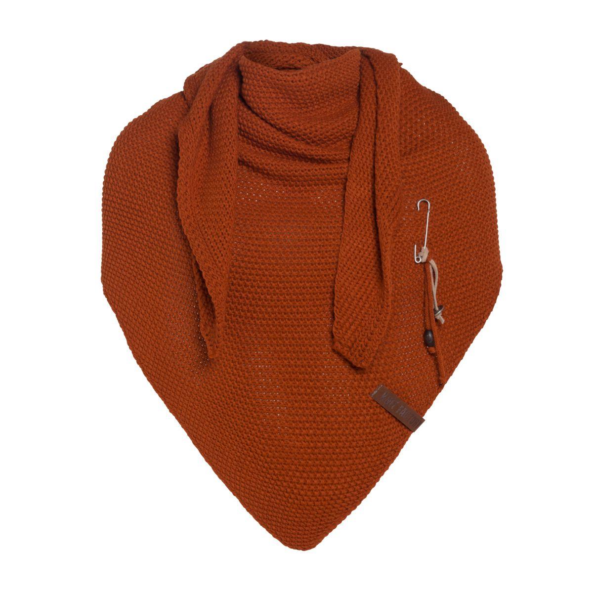 coco triangle scarf terra