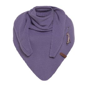 Coco Triangle Scarf Violet