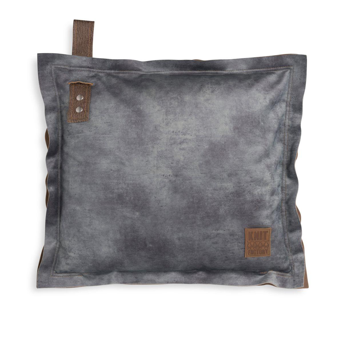 dax cushion anthracite 50x50