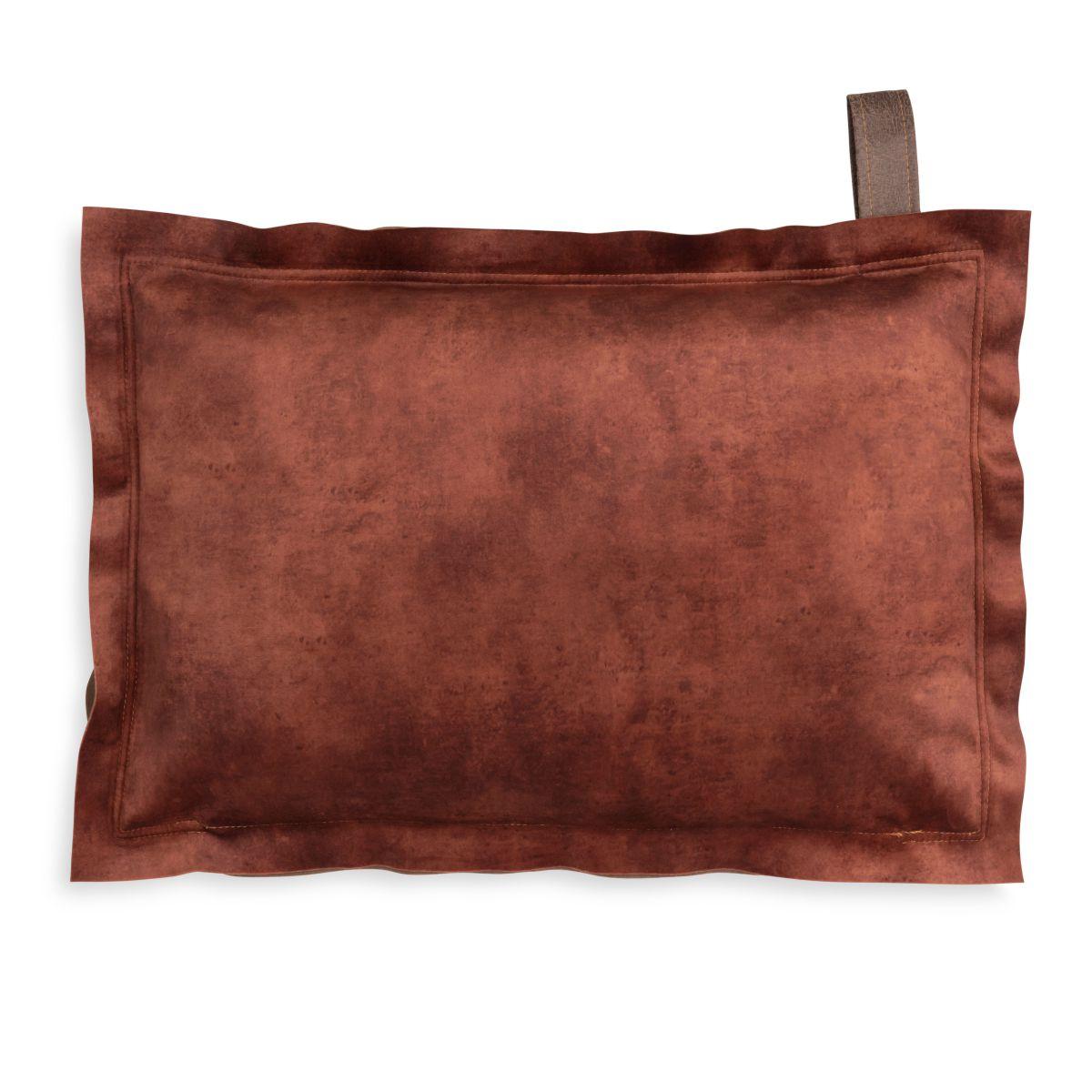 dax cushion brique 60x40