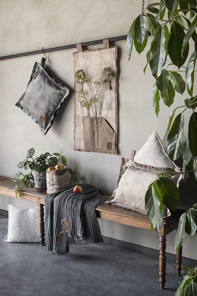 dax cushion light grey 50x50