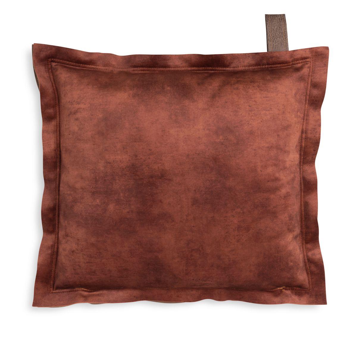 knit factory 1361231 dax kussen 50x50 brique 2