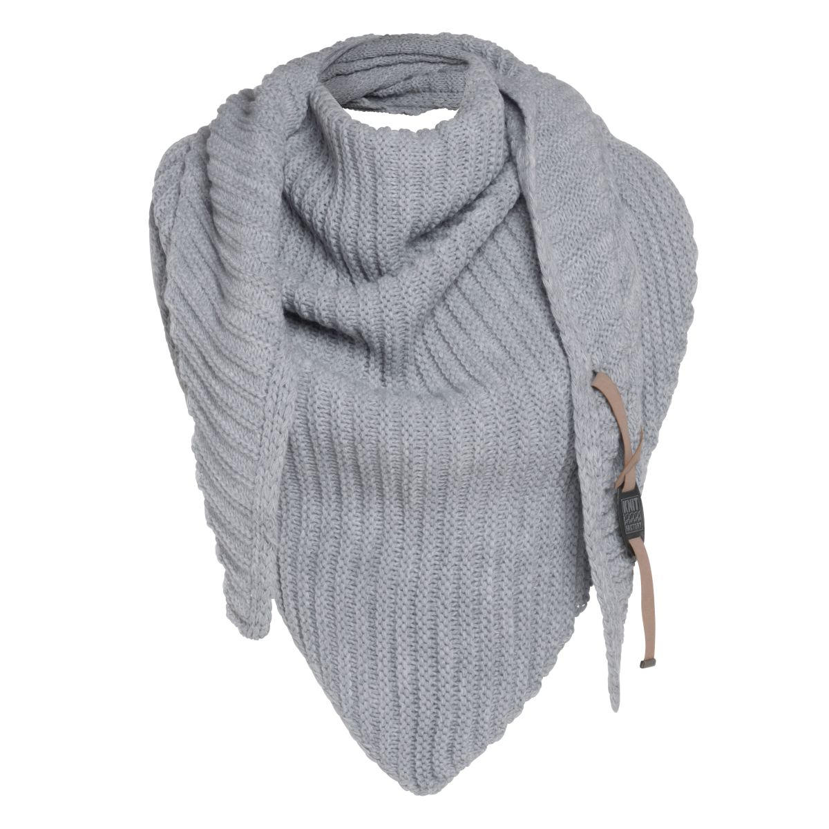 demy triangle scarf anthracite