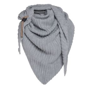 Demy Triangle Scarf Light Grey