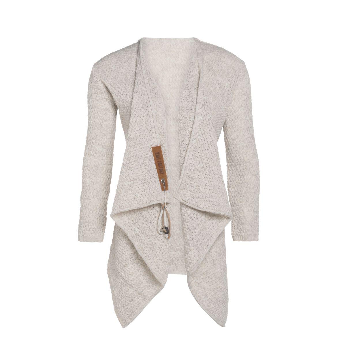 knit factory 1396212 emy vest 3638 beige 2