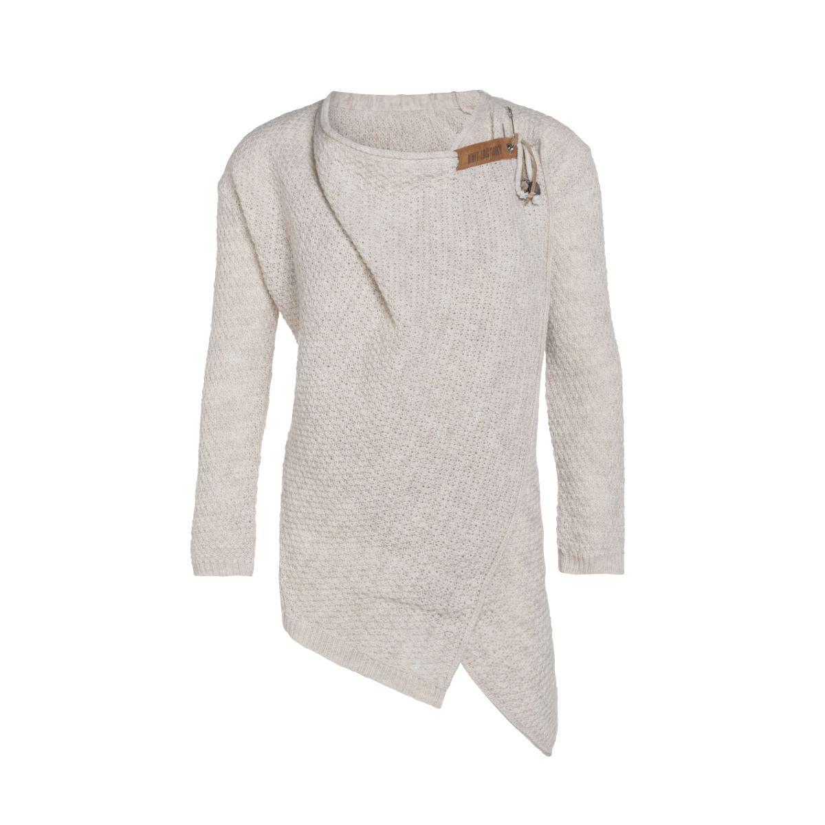 knit factory 1396312 emy vest 4042 beige 1