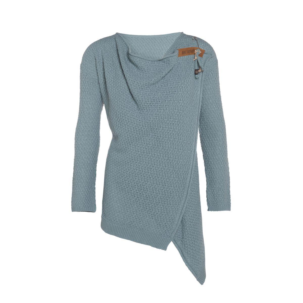 knit factory 1396209 emy vest 3638 stone green 1