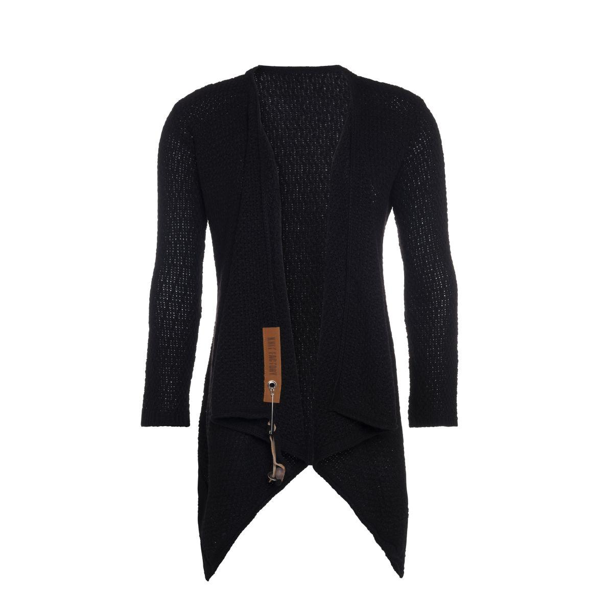 emy knitted cardigan black 4042