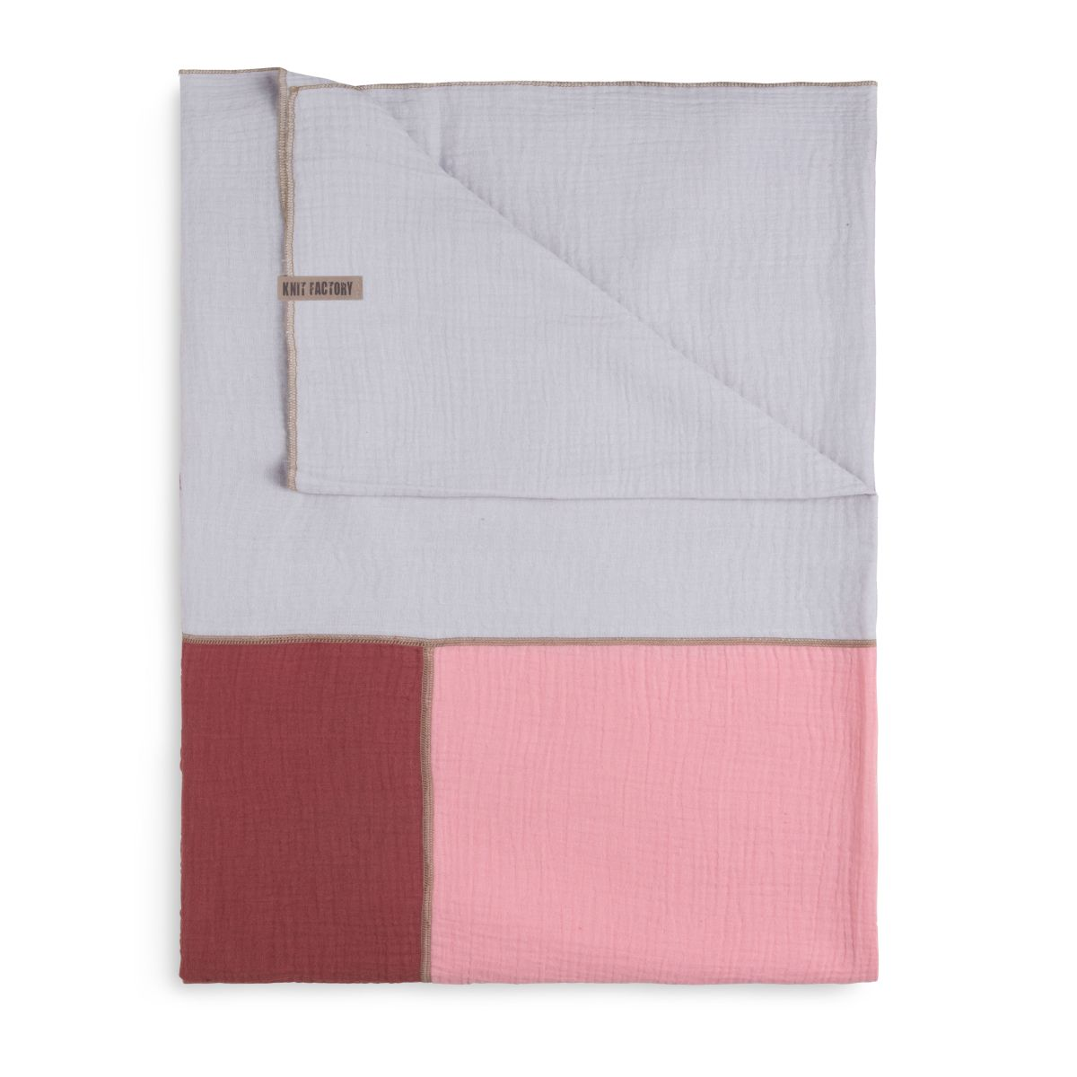 fay pareoxl scarf stone redpink