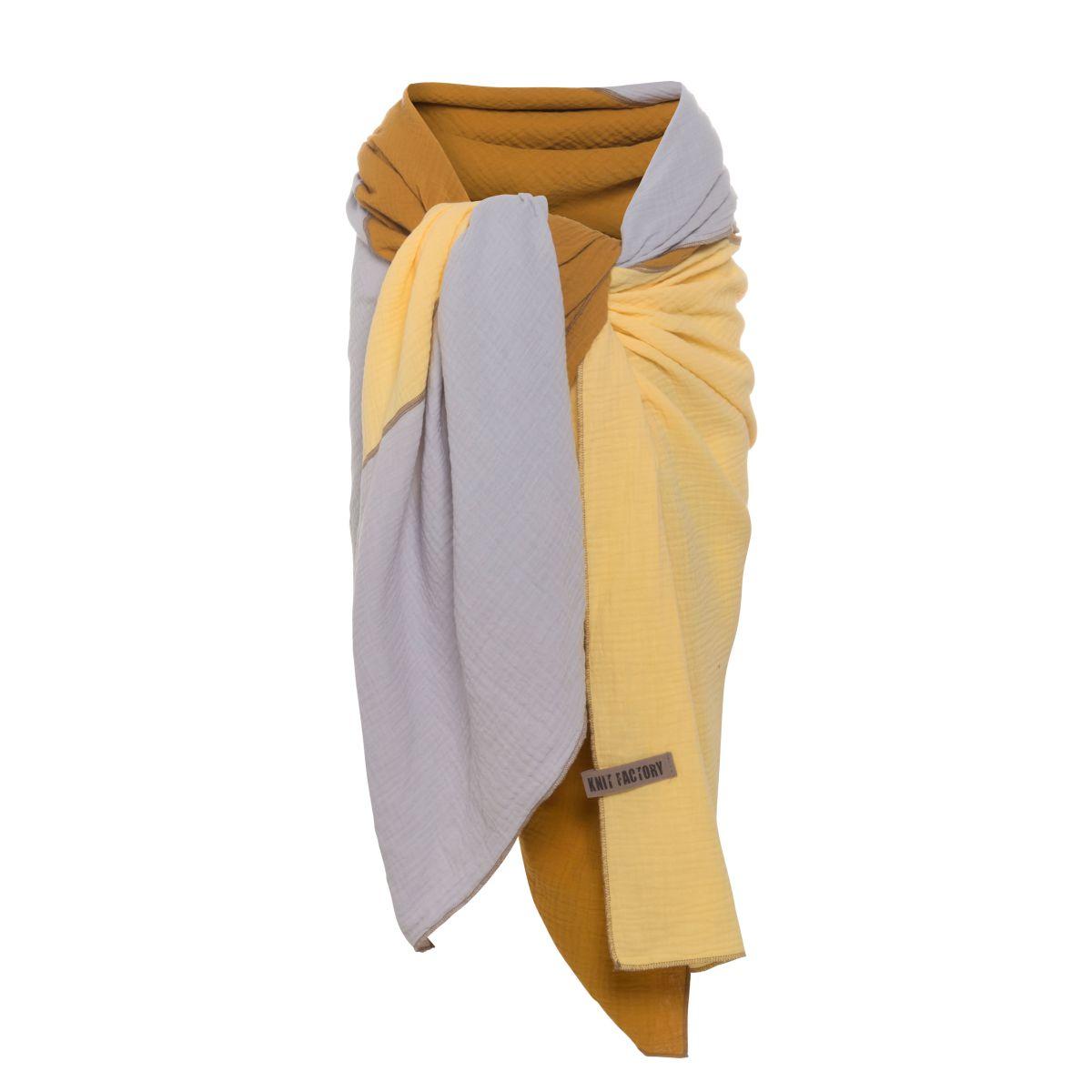 knit factory kf151056063 fay pareo oker citrus 4