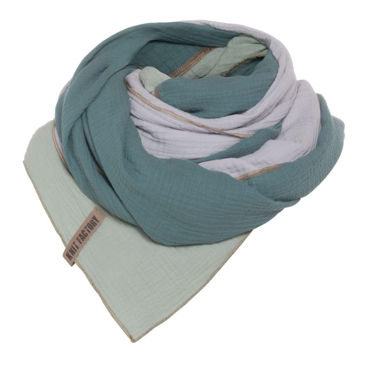 knit factory kf151056090 fay pareo stone green vintage green 2