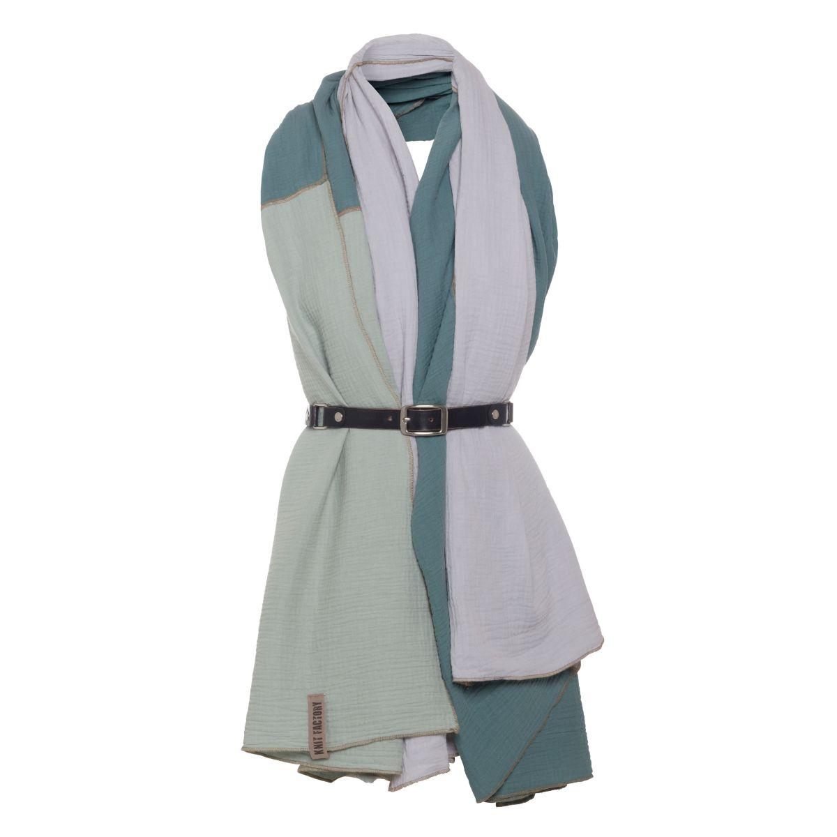 knit factory kf151056090 fay pareo stone green vintage green 3