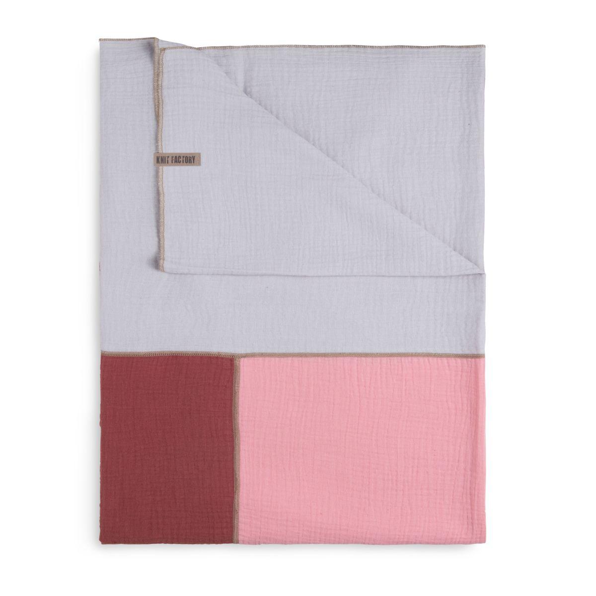 knit factory kf151056061 fay pareo stone red roze 5