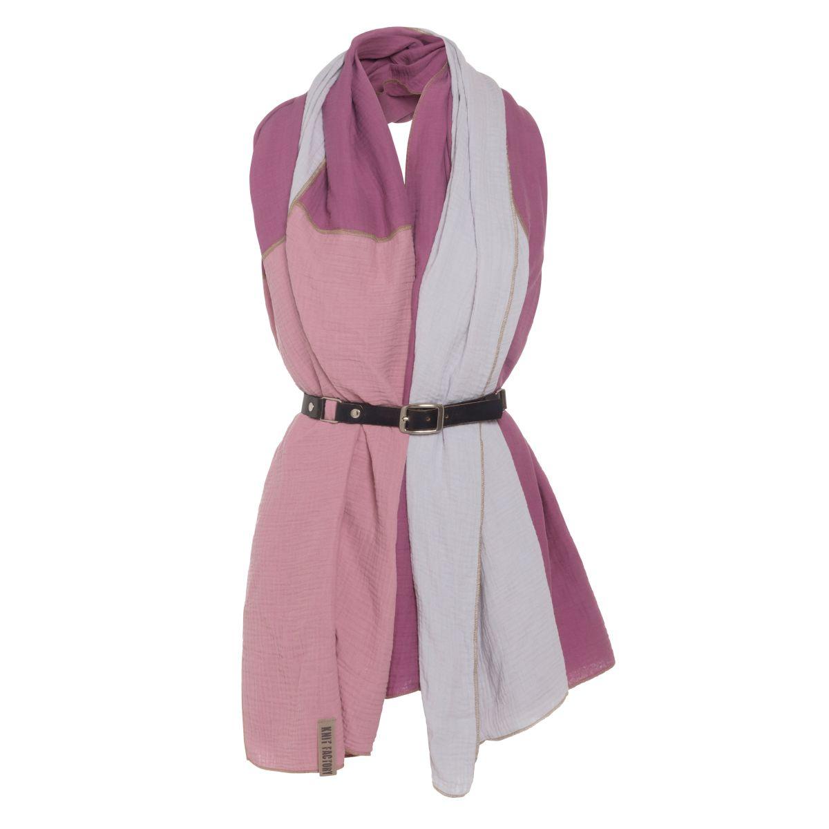 knit factory kf151056082 fay pareo violet lila 3
