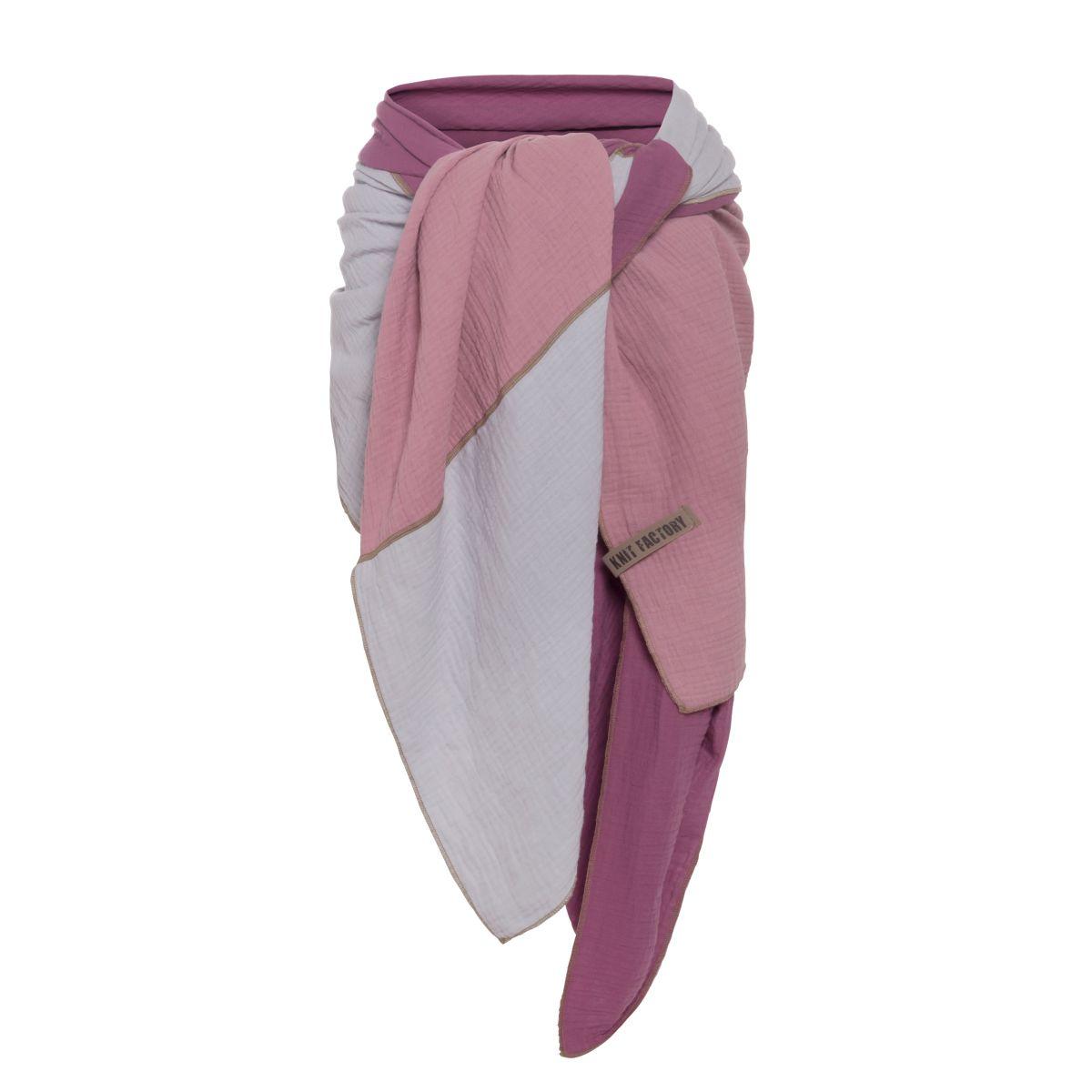 knit factory kf151056082 fay pareo violet lila 4