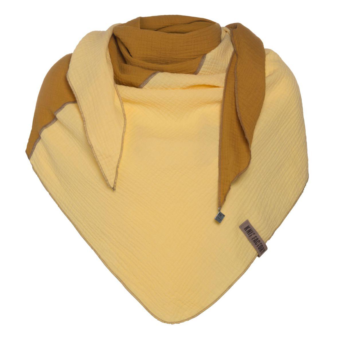 fay triangle scarf ochrecitrus