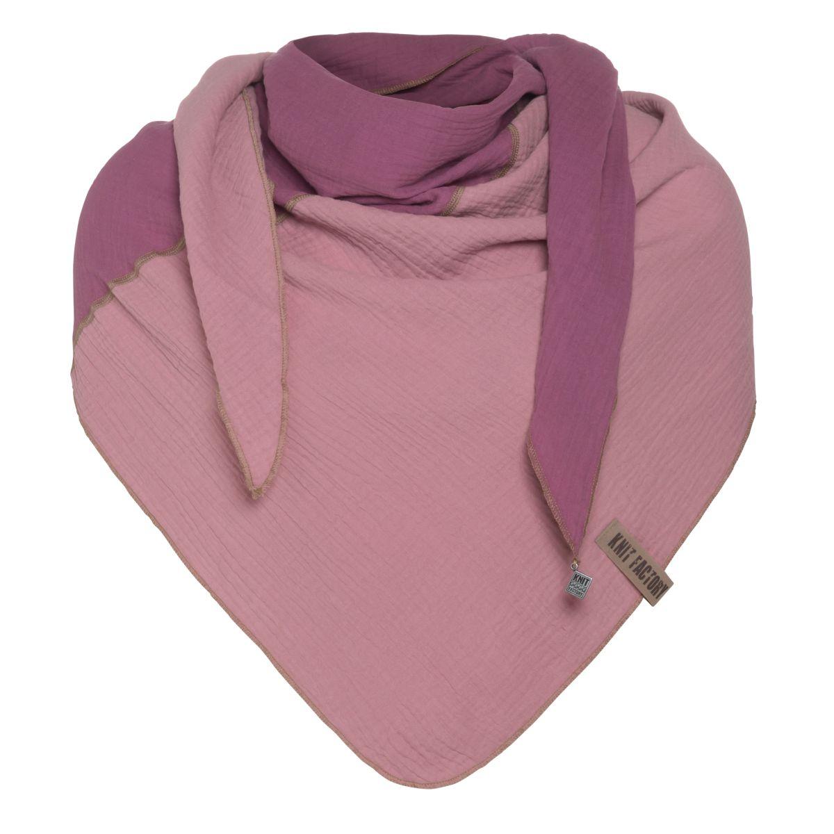fay triangle scarf violetlilac