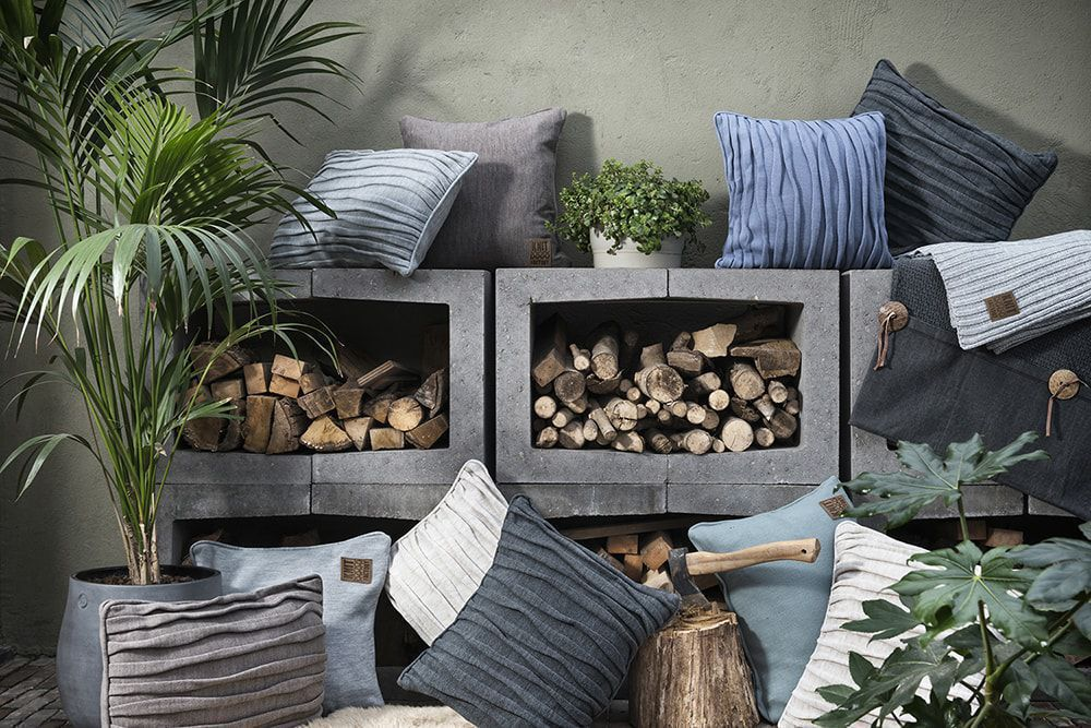 finn cushion 60x40 light grey