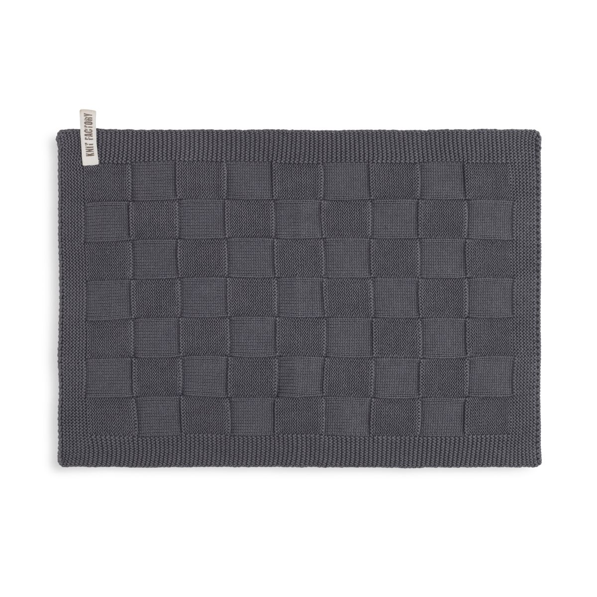 guest towel ivy anthracite