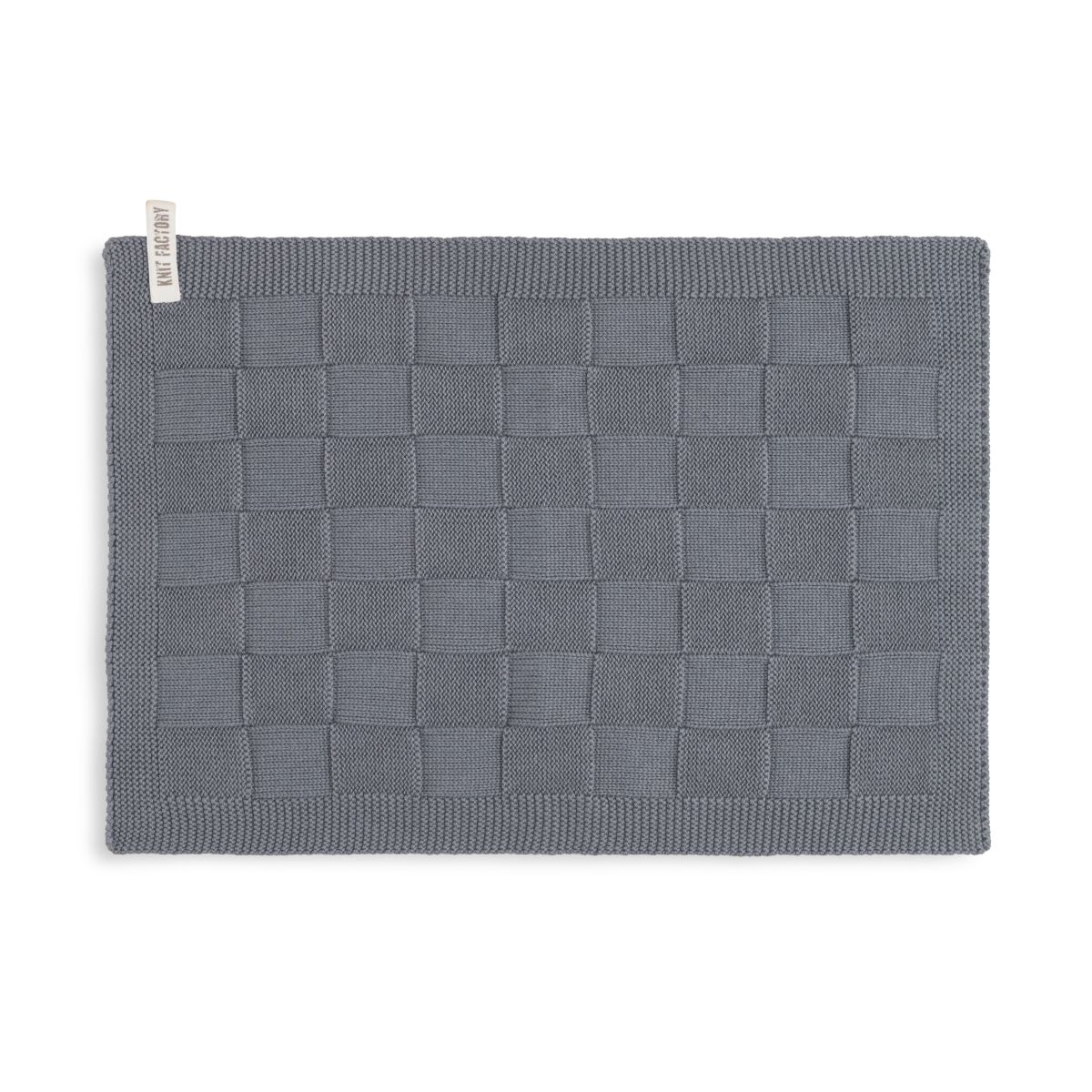 guest towel ivy med grey
