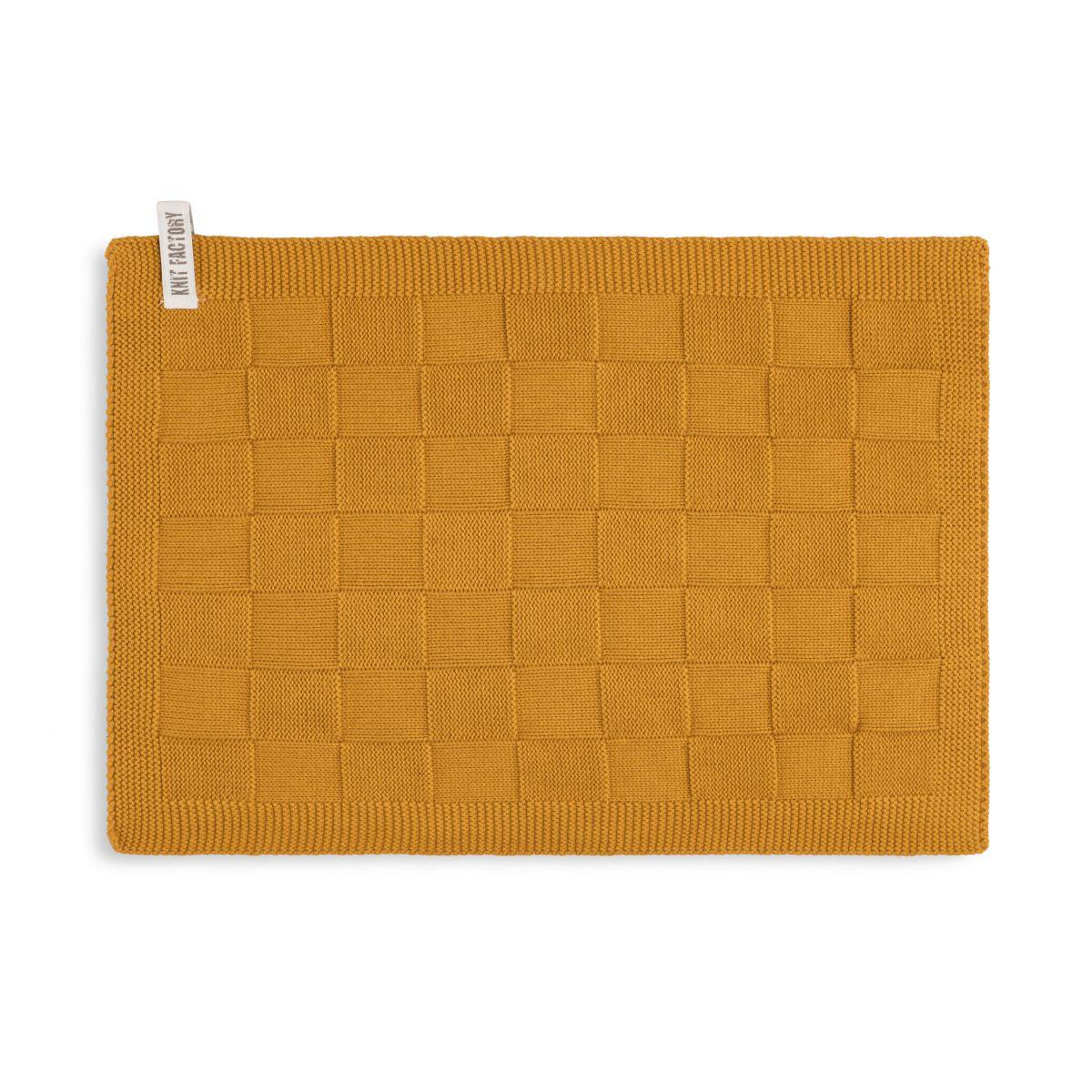 guest towel ivy ochre