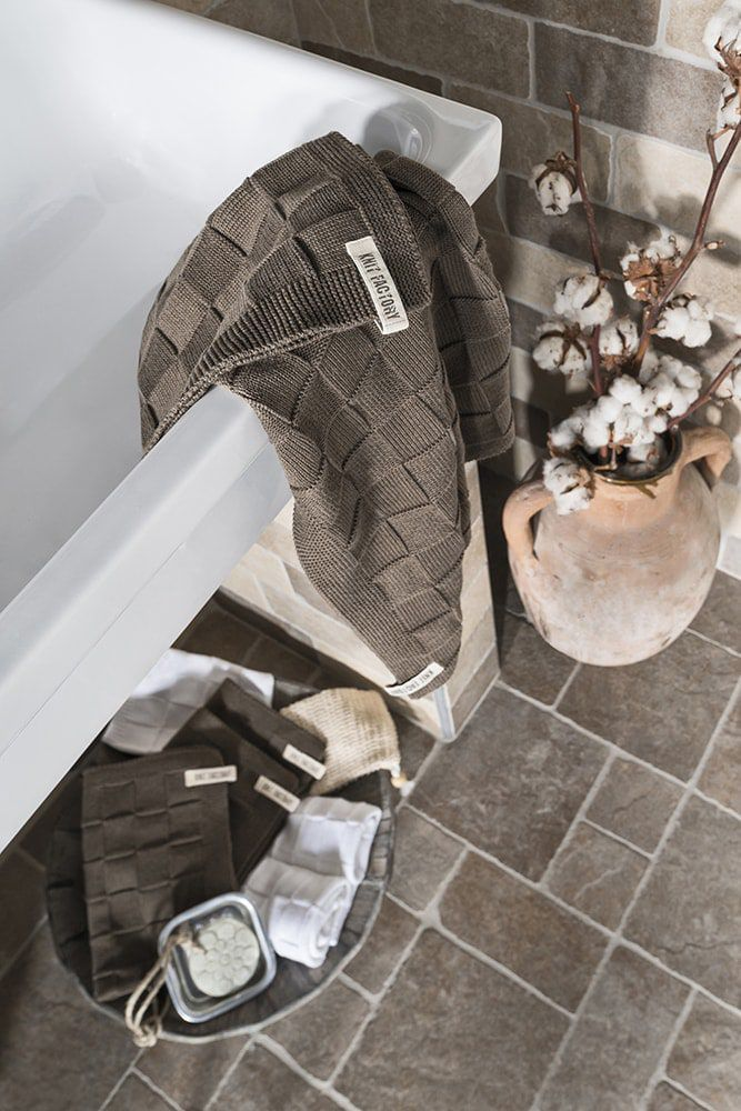handtuch 60x110 cm lila