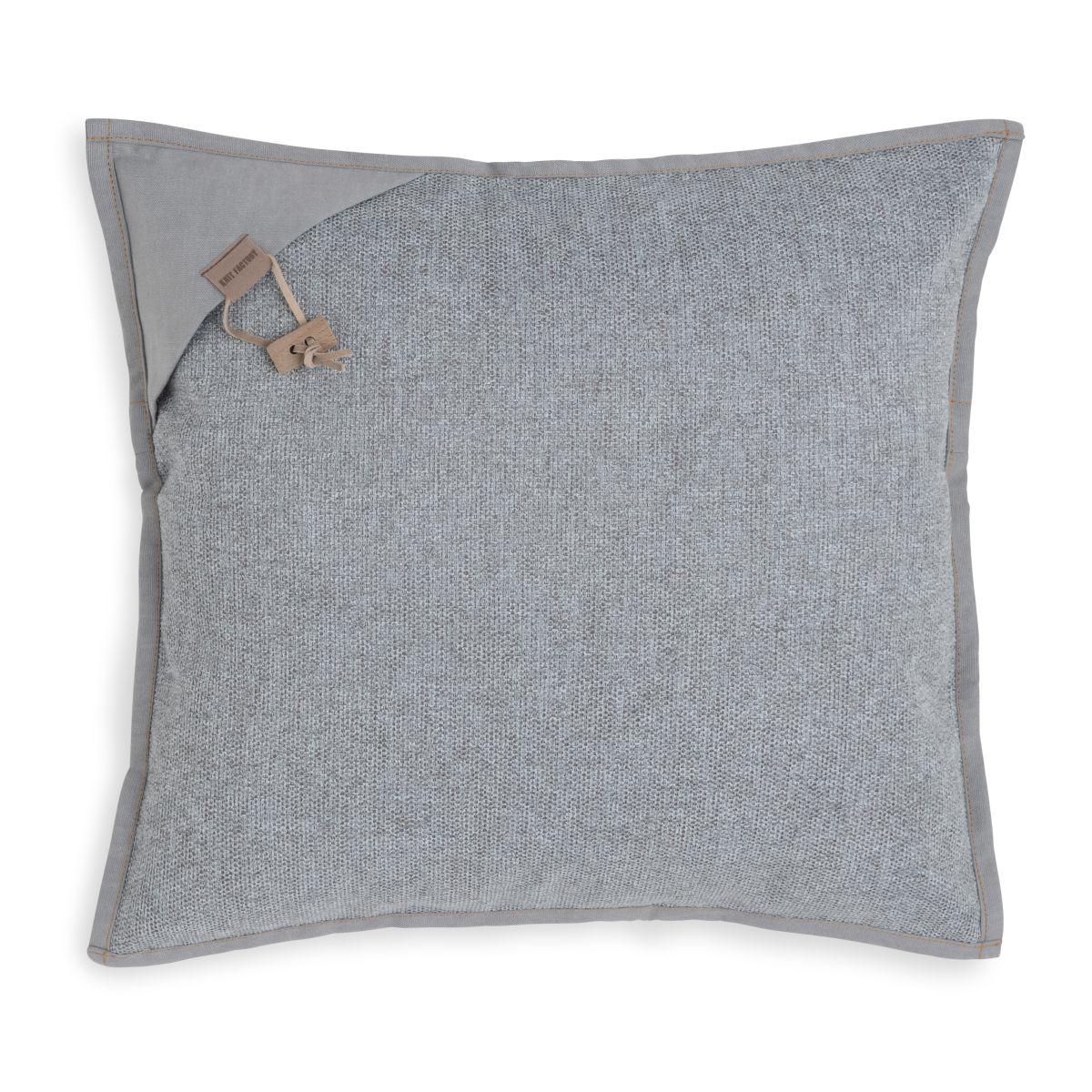 hope cushion light grey 50x50