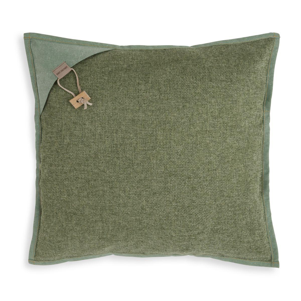 knit factory kf154012014 hope kussen groen 50x50 1