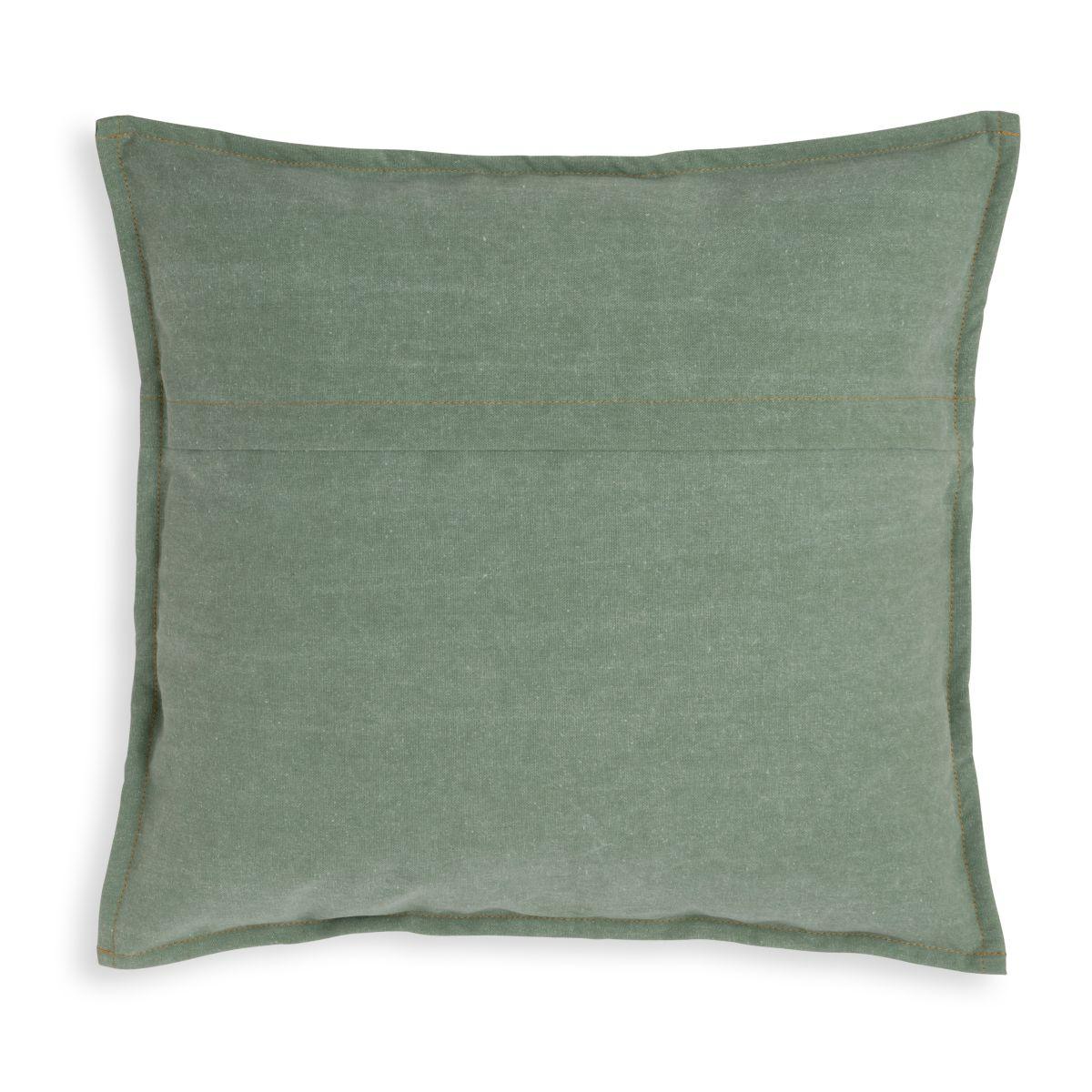 knit factory kf154012014 hope kussen groen 50x50 2