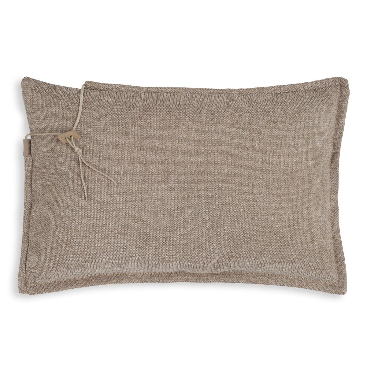 knit factory kf153013012 imre kussen beige 60x40 1