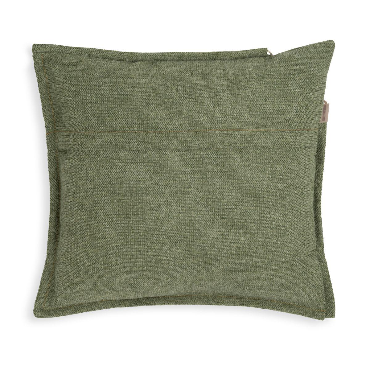 knit factory kf153012014 imre kussen groen 50x50 2