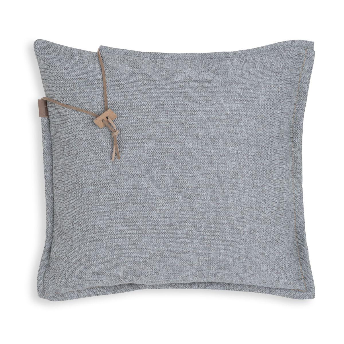 knit factory kf153012011 imre kussen licht grijs 50x50 1