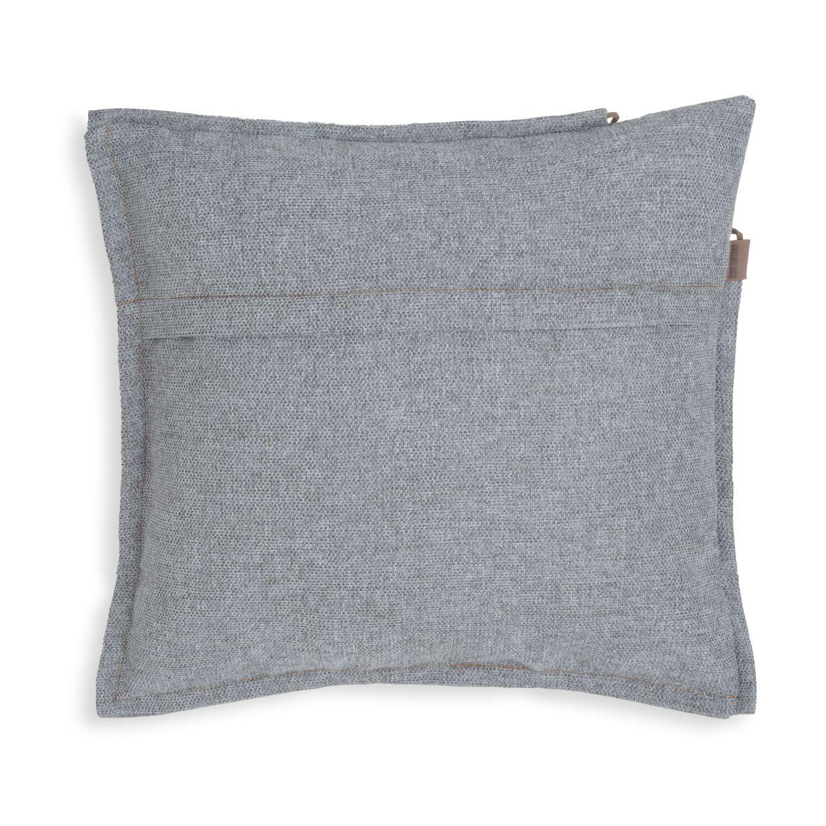 knit factory kf153012011 imre kussen licht grijs 50x50 2
