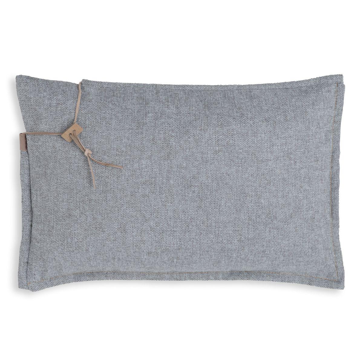 knit factory kf153013011 imre kussen licht grijs 60x40 1