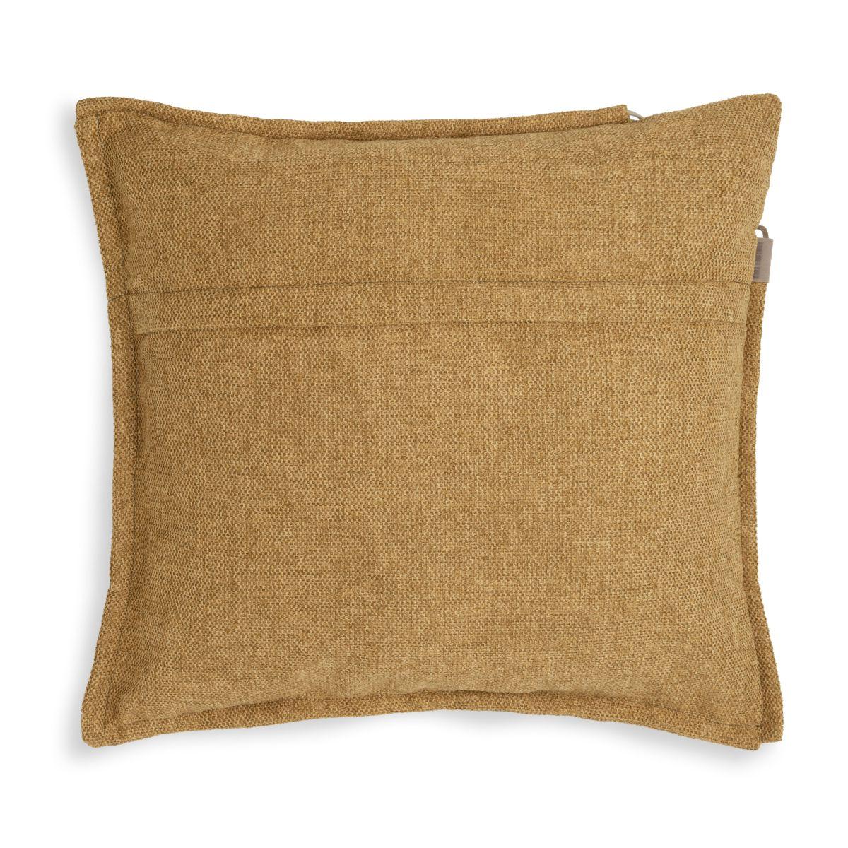 knit factory kf153012017 imre kussen oker 50x50 2