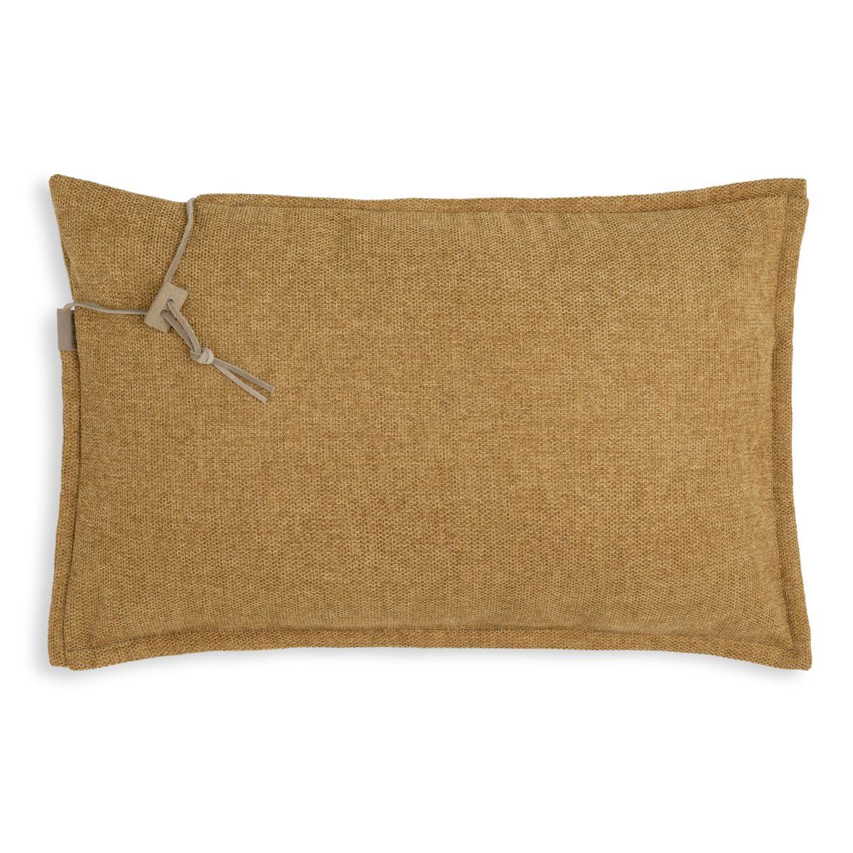 knit factory kf153013017 imre kussen oker 60x40 1