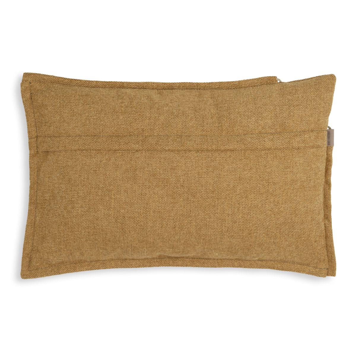 knit factory kf153013017 imre kussen oker 60x40 2
