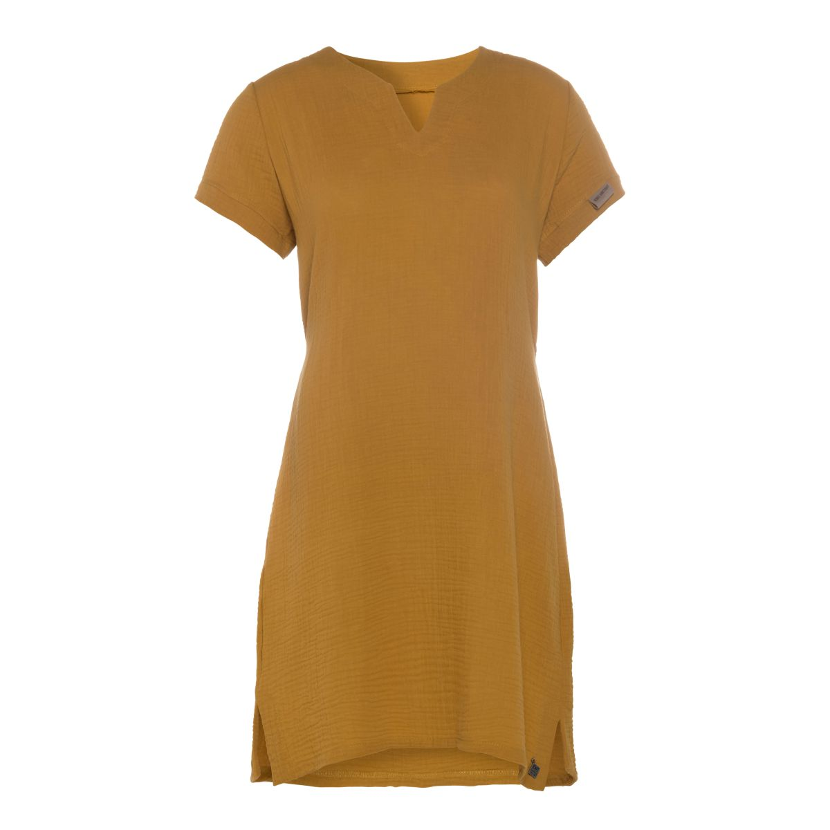 indy casual dress ochre m