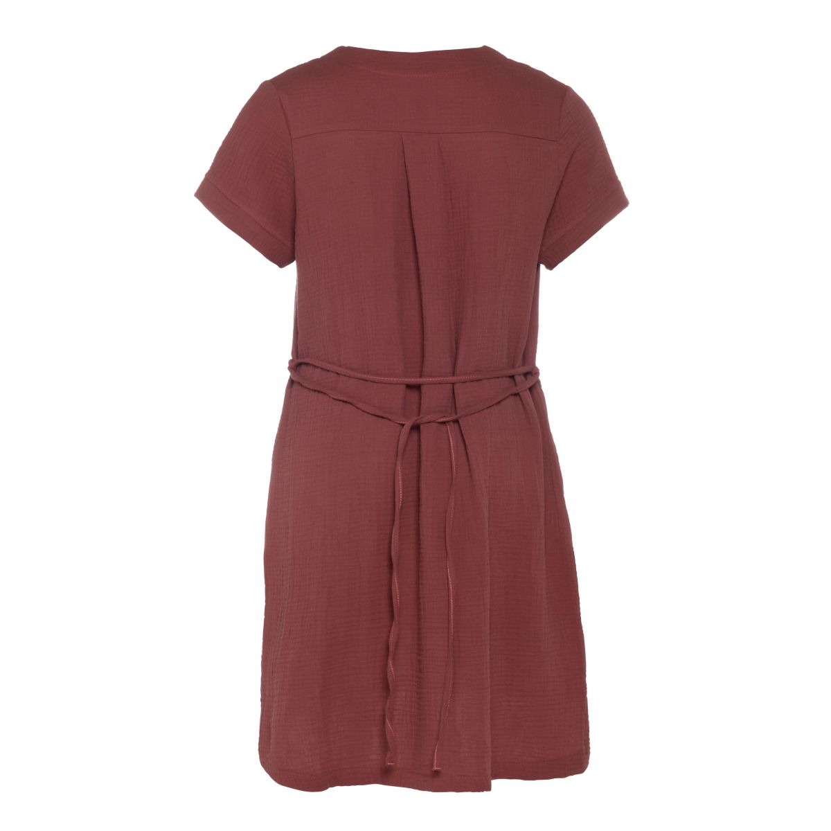 indy casual dress stone red s