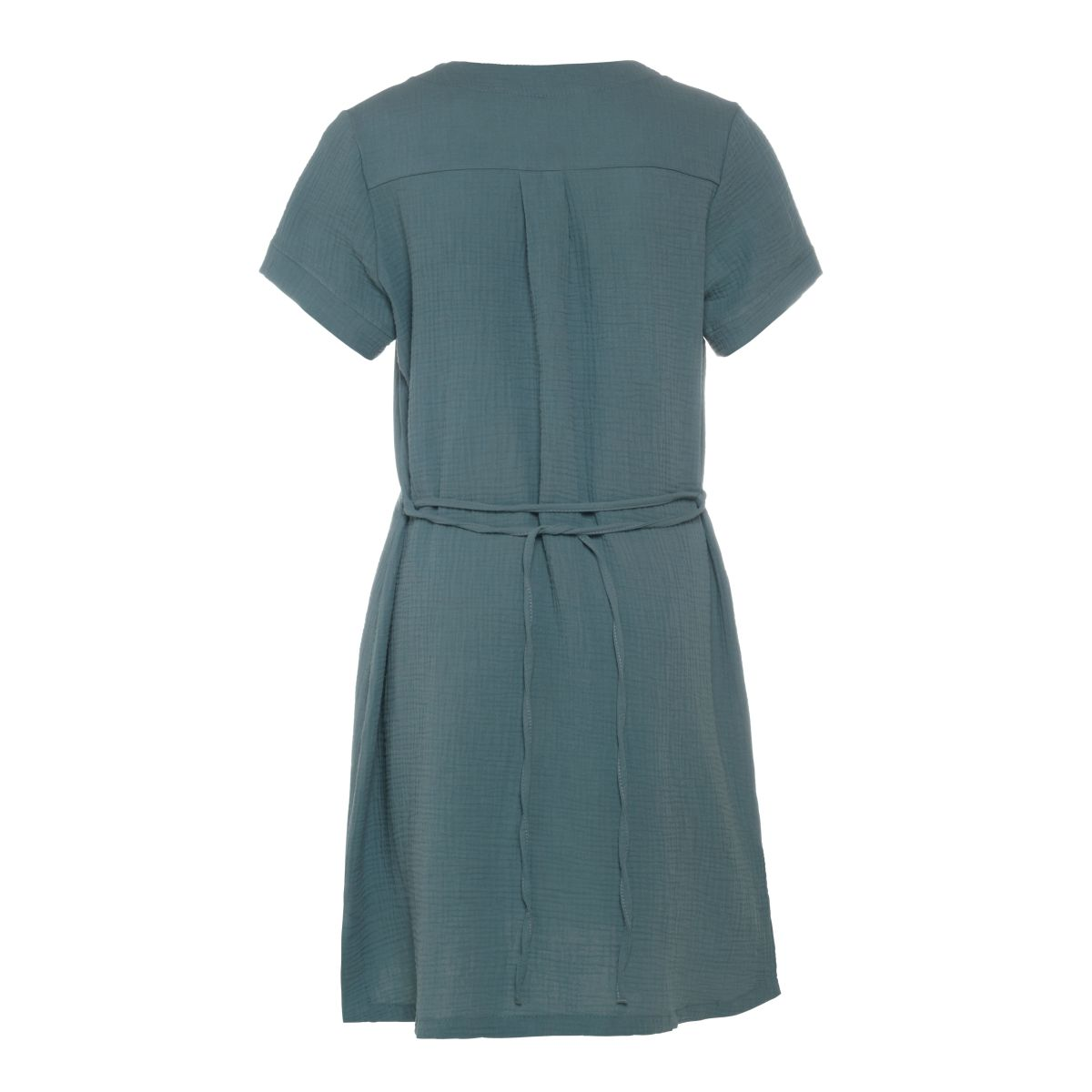 knit factory kf15012000950 indy jurk stone green m 2