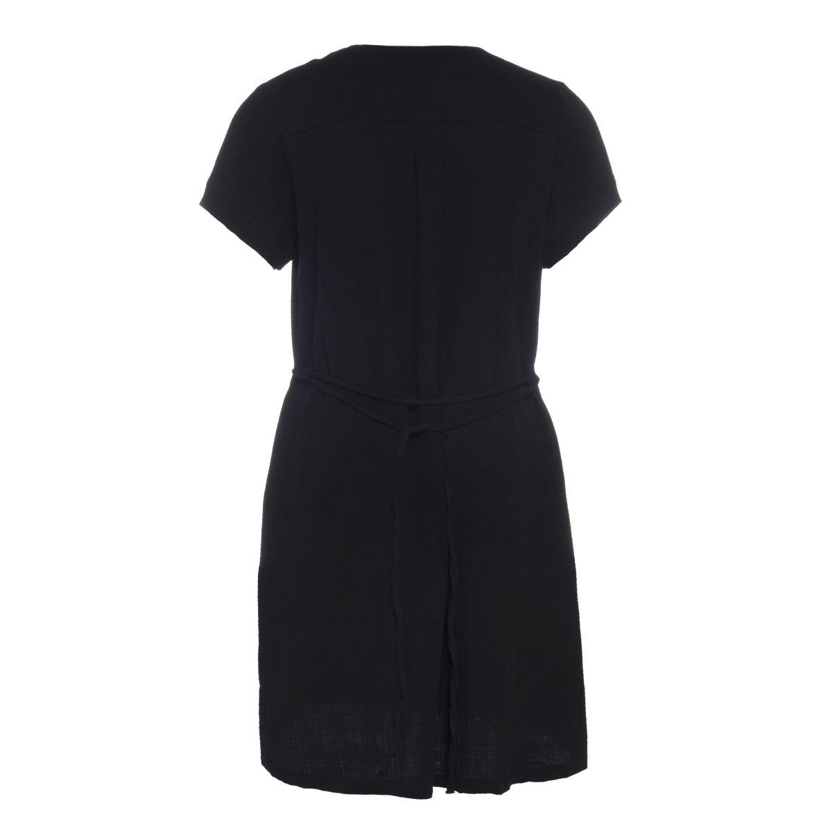 knit factory kf15012000050 indy jurk zwart m 2