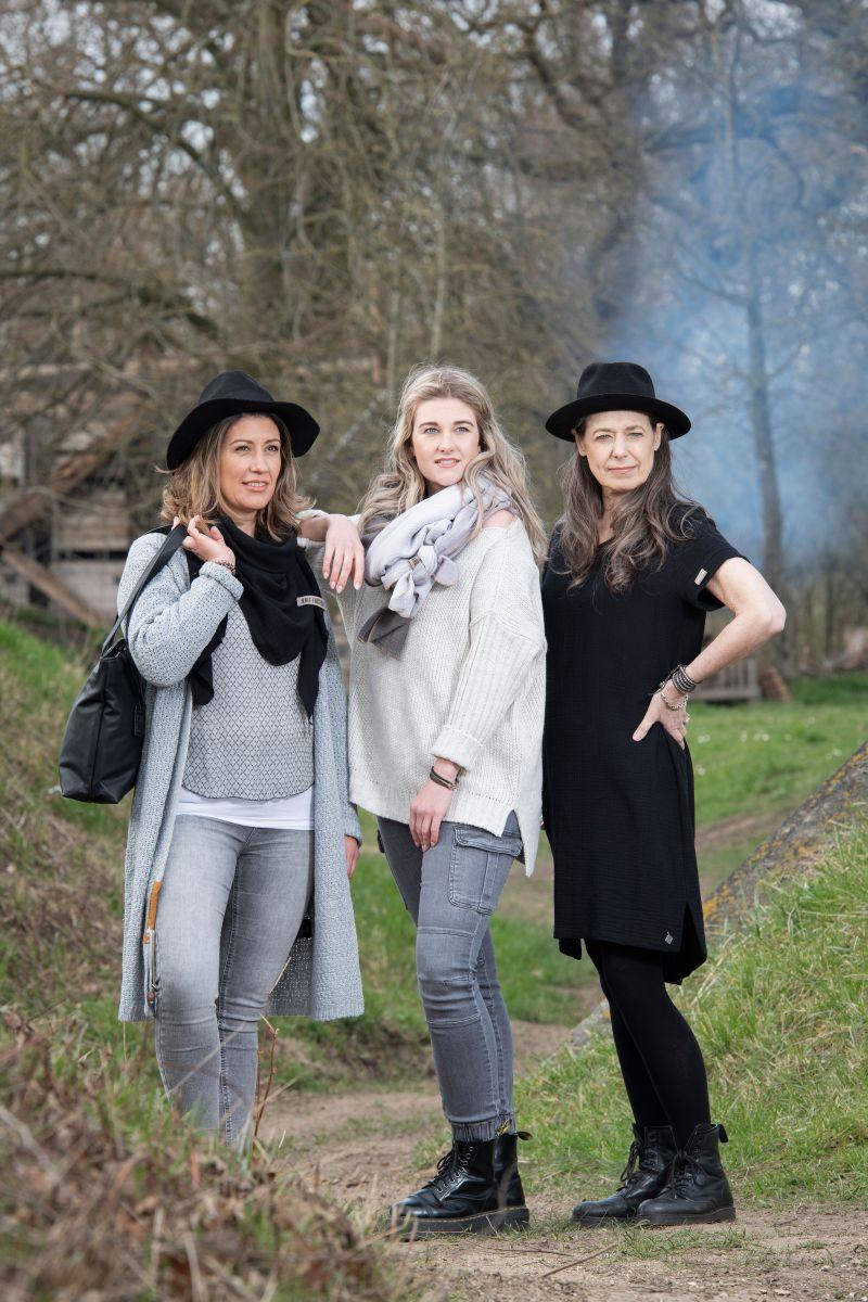 knit factory kf15012000052 indy jurk zwart xl 4