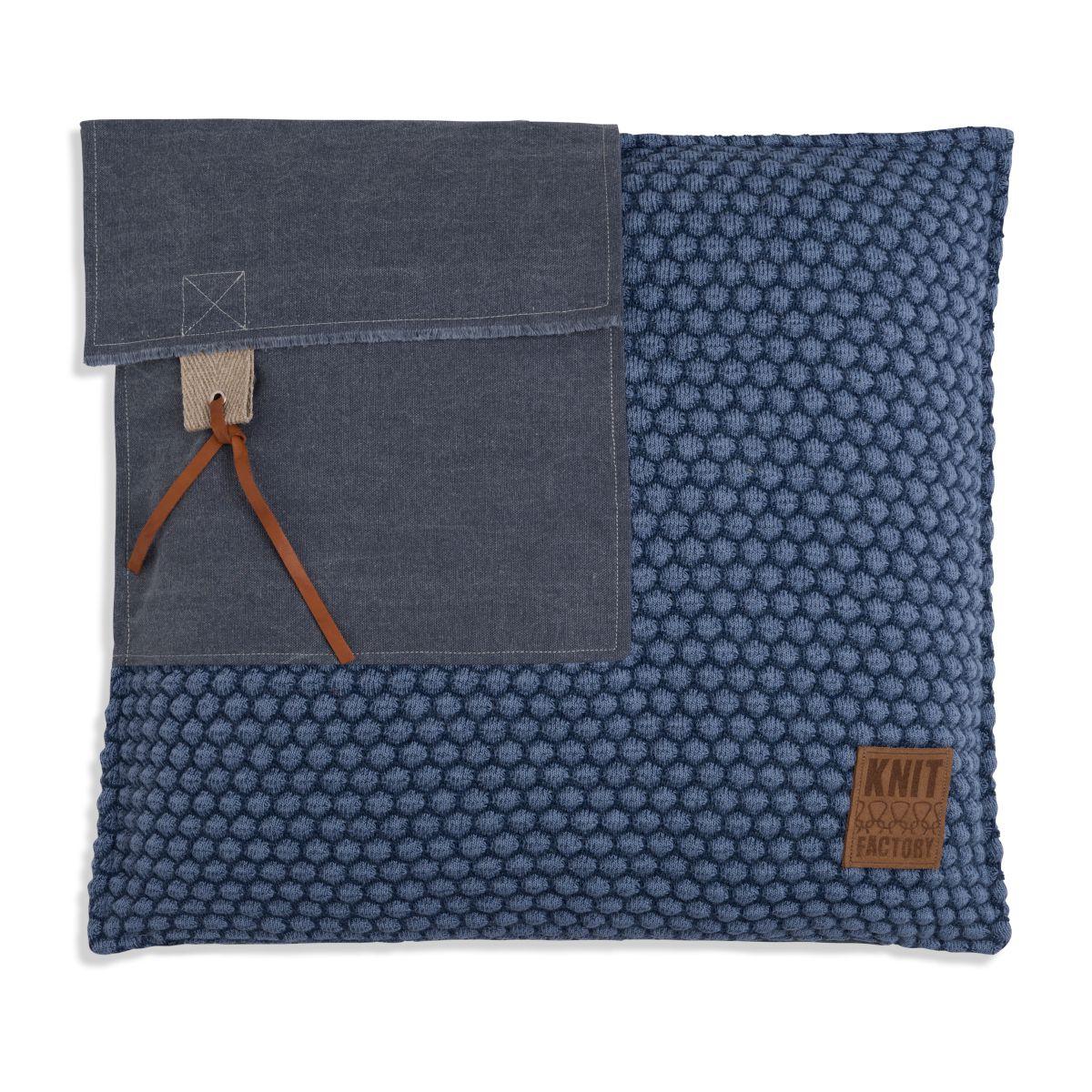 knit factory 1251254 kussen 50x50 jack jeans indigo 1