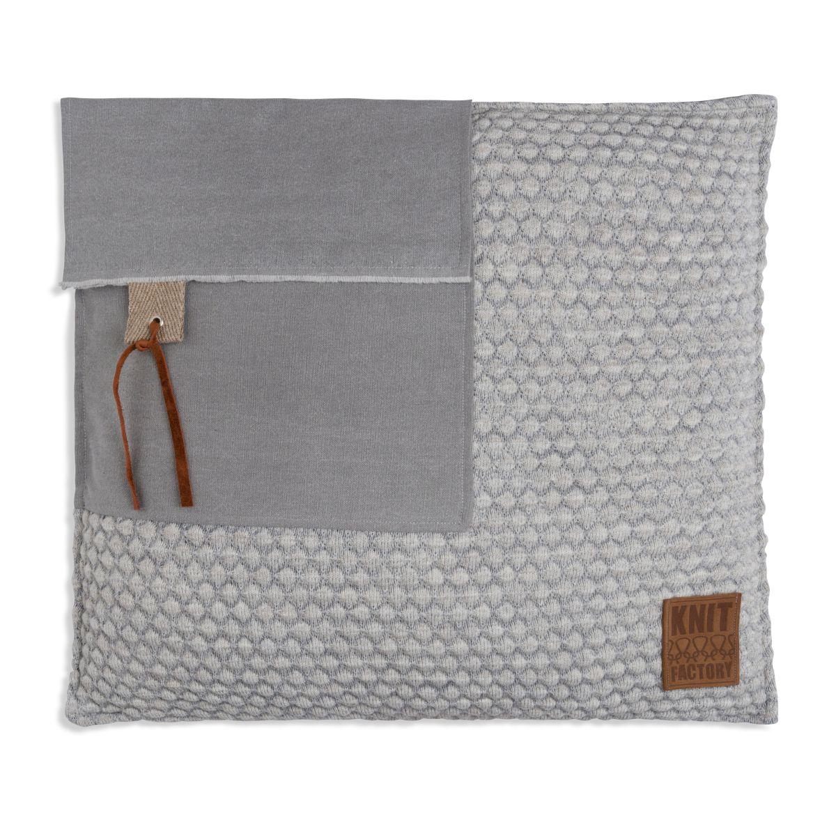 knit factory 1251249 kussen 50x50 jack grijs beige 1
