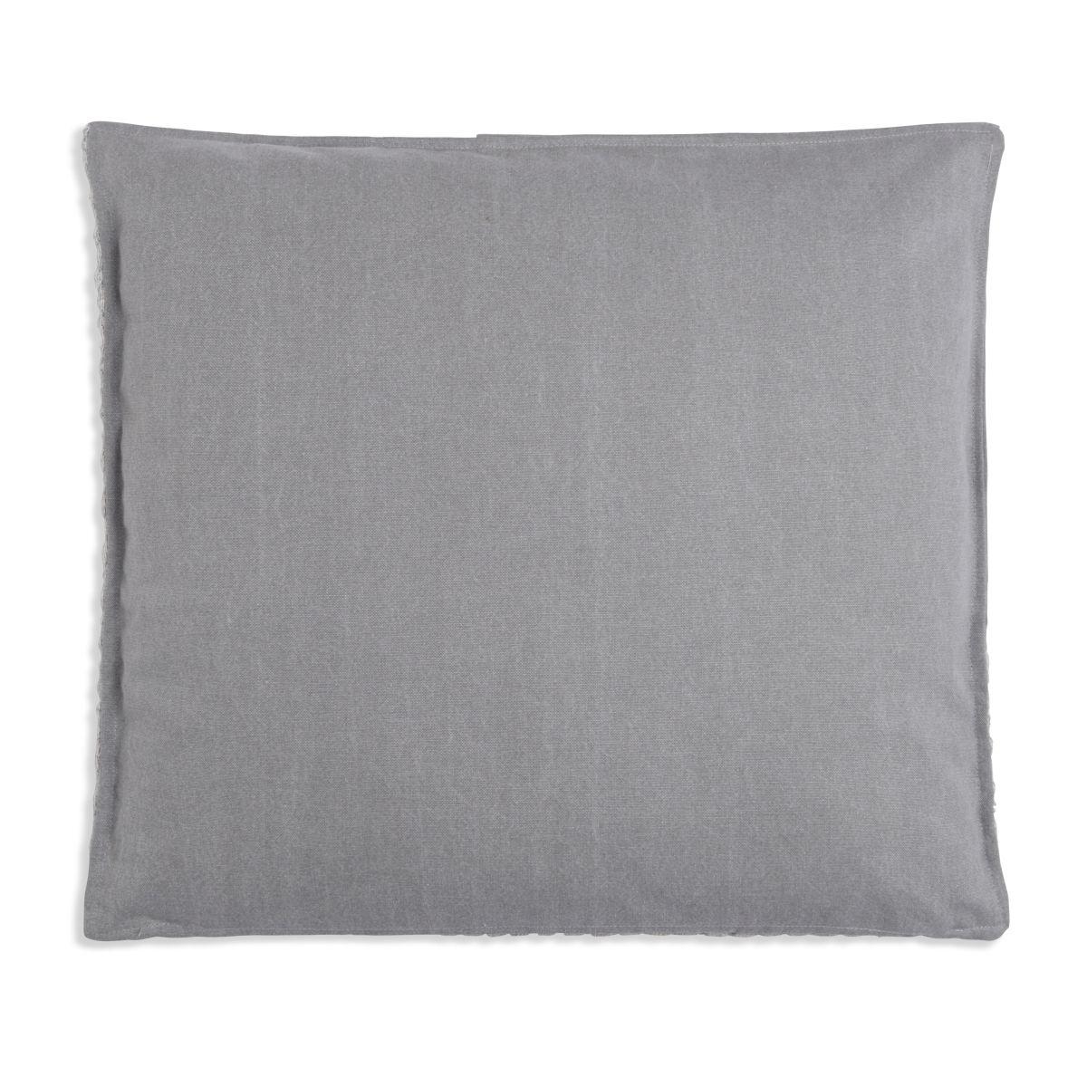 knit factory 1251249 kussen 50x50 jack grijs beige 2